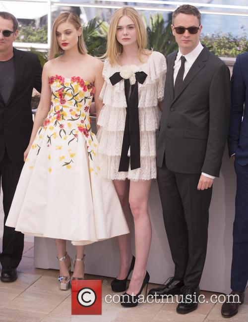 Bella Heathcote, Elle Fanning and Nicolas Winding Refn 9