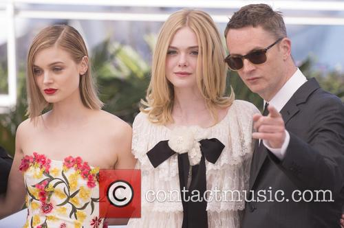 Bella Heathcote, Elle Fanning and Nicolas Winding Refn 10