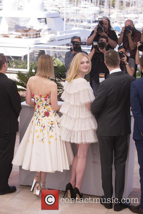 Bella Heathcote, Elle Fanning and Nicolas Winding Refn 11