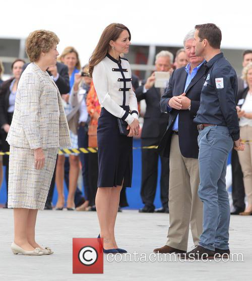 Catherine, Duchess Of Cambridge, Kate Middleton and Sir Ben Ainslie 3