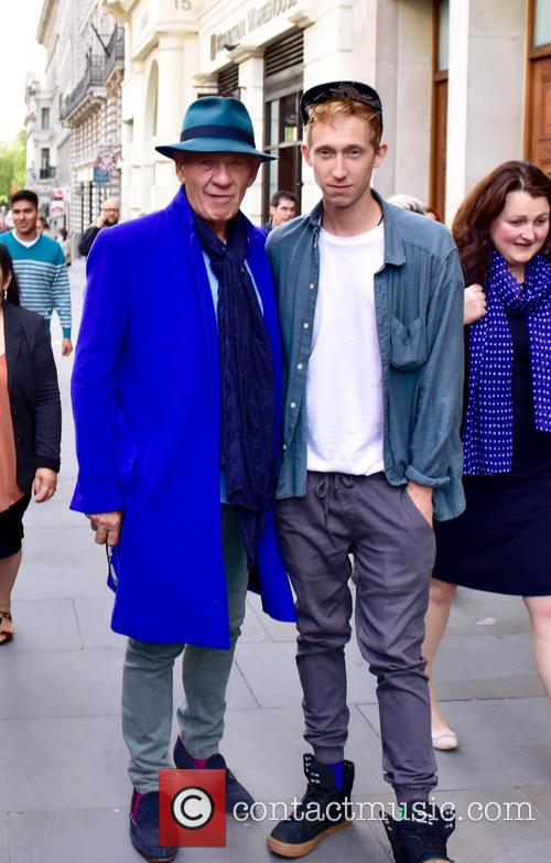 Sir Ian McKellen arrives at Vue Piccadilly