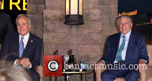 Larry Ruvo and Tony Bennett 1