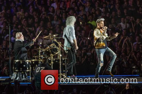 Adam Lambert, Brian May and Roger Taylor 4