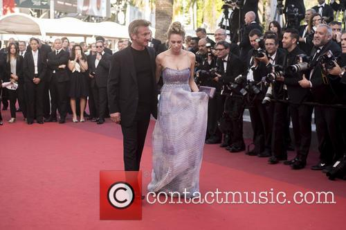 Sean Penn and Dylan Frances Penn 1