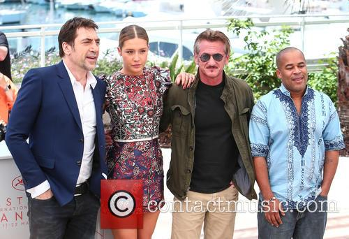 Javier Bardem, Adele Exarchopoulos, Sean Penn and Zubin Cooper 1