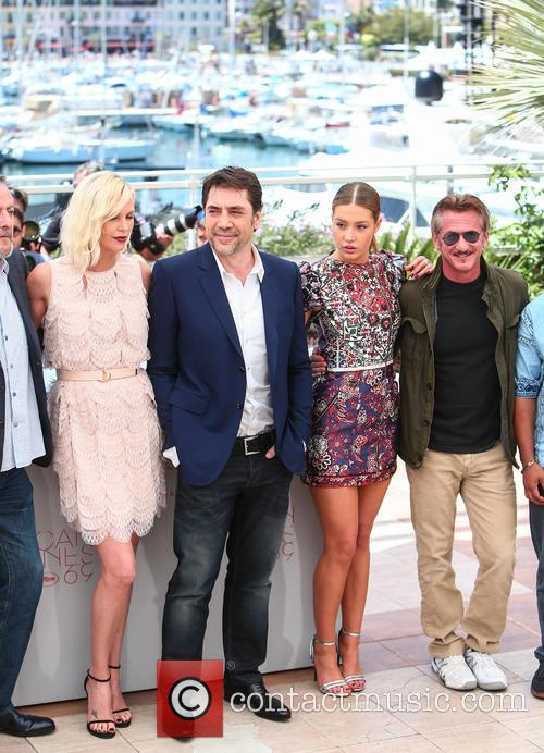 Charlize Theron, Javier Bardem, Adele Exarchopoulos and Sean Penn 3