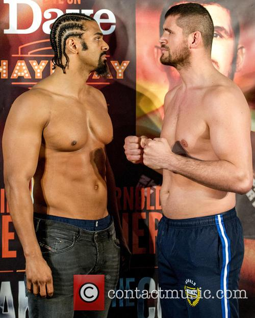 David Haye and Arnold Gjerjaj 9