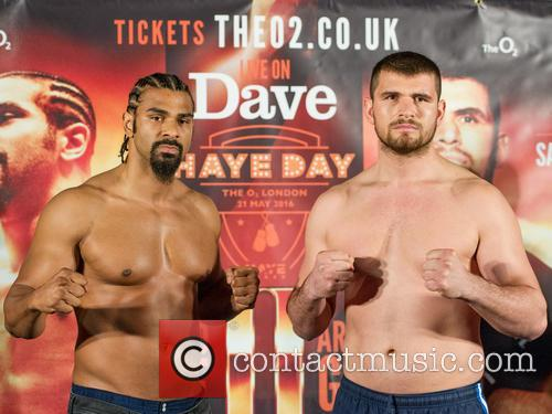 David Haye and Arnold Gjerjaj 11