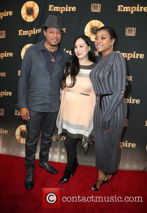 Terrence Howard, Miranda Pak and Taraji P. Henson 7