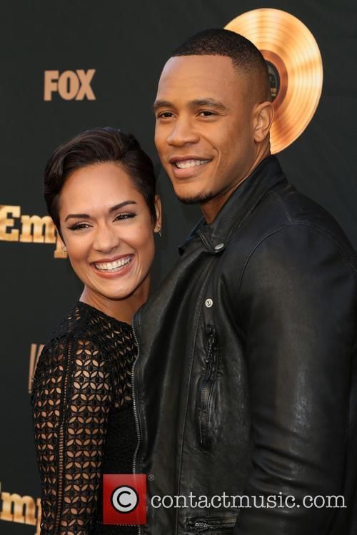 Grace Gealey and Trai Byers 6