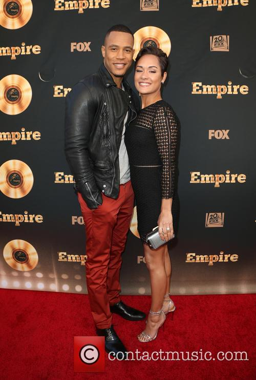 Trai Byers and Grace Gealey 7