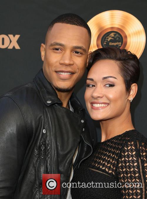 Trai Byers and Grace Gealey 9
