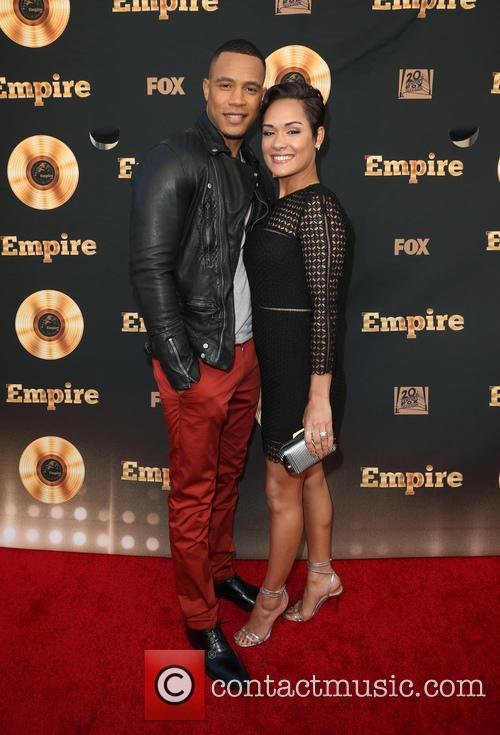 Trai Byers and Grace Gealey 10
