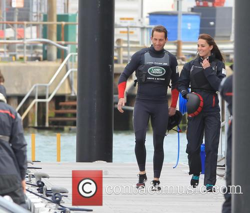 Sir Ben Ainslie, Catherine Middleton, Duchess Of Cambridge and Kate Middleton 2