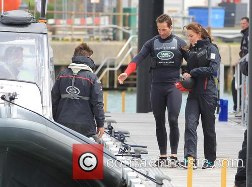 Sir Ben Ainslie, Catherine Middleton, Duchess Of Cambridge and Kate Middleton 5