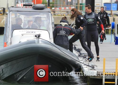 Sir Ben Ainslie, Kate Middleton, Catherine Middleton and Duchess Of Cambridge 7