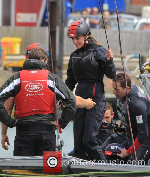Sir Ben Ainslie, Kate Middleton, Catherine Middleton and Duchess Of Cambridge 10