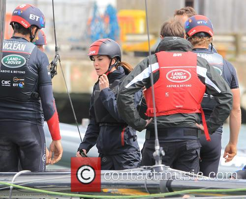 Sir Ben Ainslie, Kate Middleton, Catherine Middleton and Duchess Of Cambridge 11