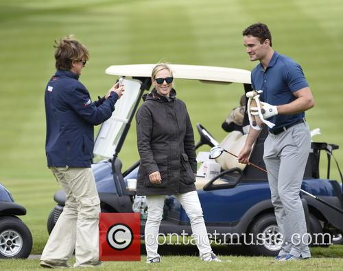 Thom Evans and Zara Phillips 1