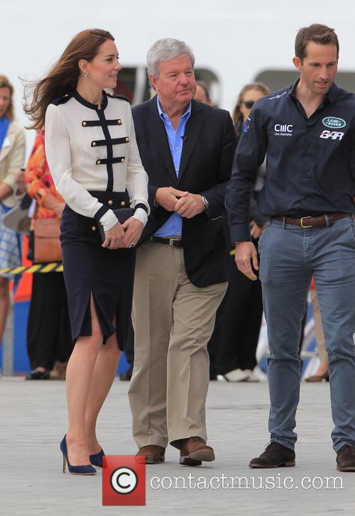 Catherine, Duchess Of Cambridge, Kate Middleton and Sir Ben Ainslie 4