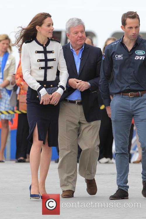 Catherine, Duchess Of Cambridge, Kate Middleton and Sir Ben Ainslie 5