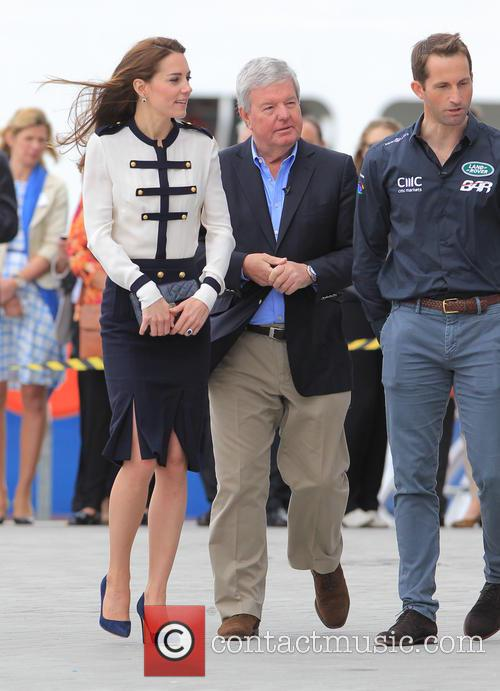 Catherine, Duchess Of Cambridge, Kate Middleton and Sir Ben Ainslie 6