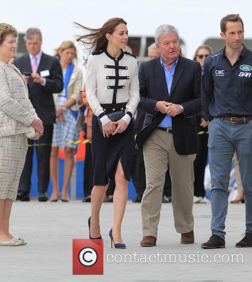 Catherine, Duchess Of Cambridge, Kate Middleton and Sir Ben Ainslie 7