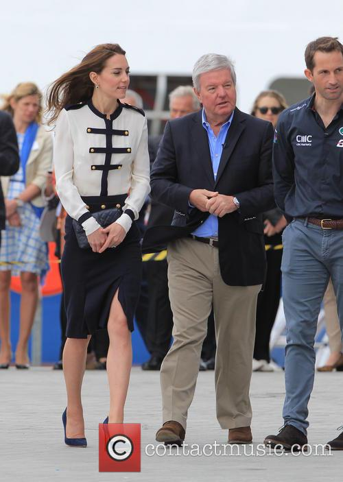 Catherine, Duchess Of Cambridge, Kate Middleton and Sir Ben Ainslie 8