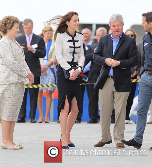 Catherine, Duchess Of Cambridge, Kate Middleton and Sir Ben Ainslie 9