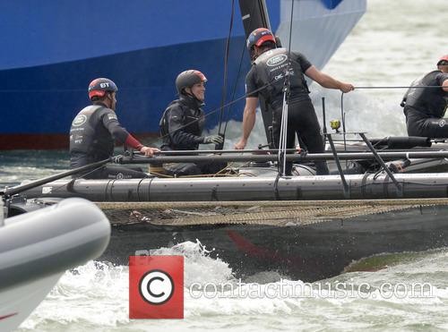 Duchess Of Cambridge, Kate Middleton and Sir Ben Ainslie 2