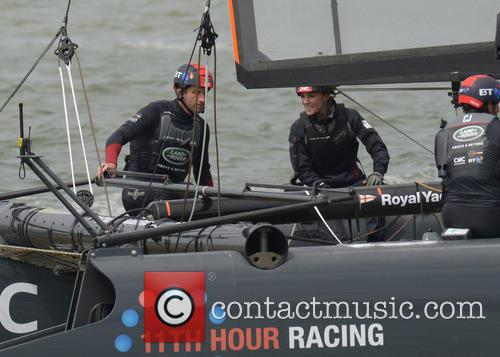Duchess Of Cambridge, Kate Middleton and Sir Ben Ainslie 4