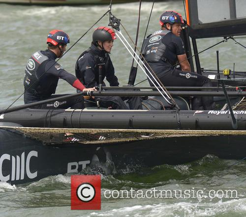 Duchess Of Cambridge, Kate Middleton and Sir Ben Ainslie 5