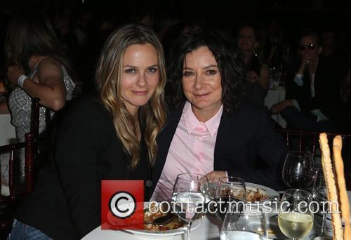Alicia Silverstone and Sara Gilbert 2
