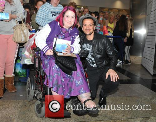 Peter Andre has a signing for fans at...