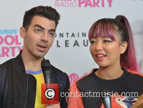 Joe Jonas, Jinjoo Lee and Dnce 3