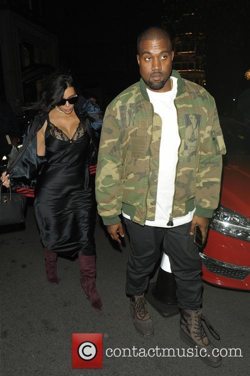 Kim Kardashian and Kanye West 5