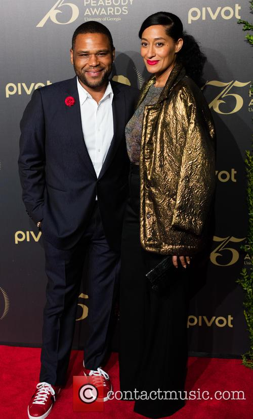 Anthony Anderson and Tracy Ellis-ross 1