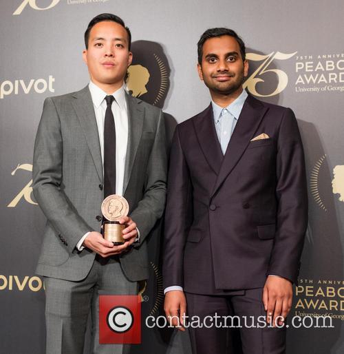 Alan Yang and Aziz Ansari 1