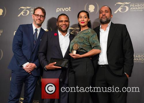 Jonathan Groff, Anthony Anderson, Tracy Ellis-ross and Kenya Barris 2