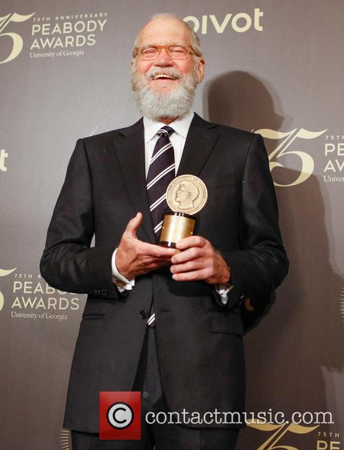 David Letterman at the Peabody Awards
