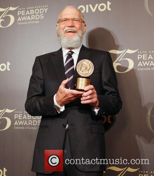 David Letterman at the Peabody Awards