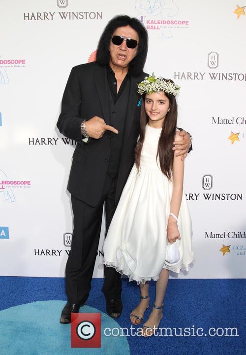 Gene Simmons and Angelina Jordan 2