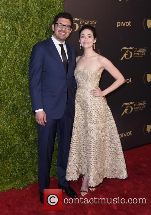 Emmy Rossum and Sam Esmail 2