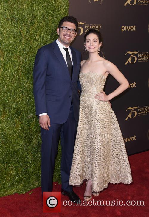 Emmy Rossum and Sam Esmail 3