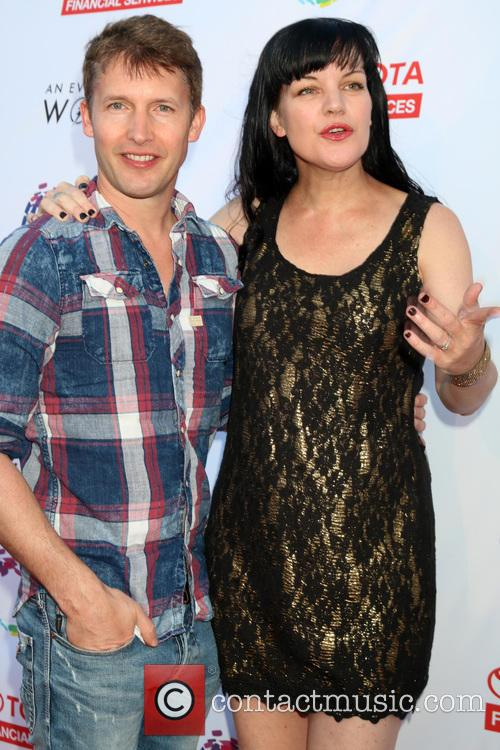 James Blunt and Pauley Perrette 4