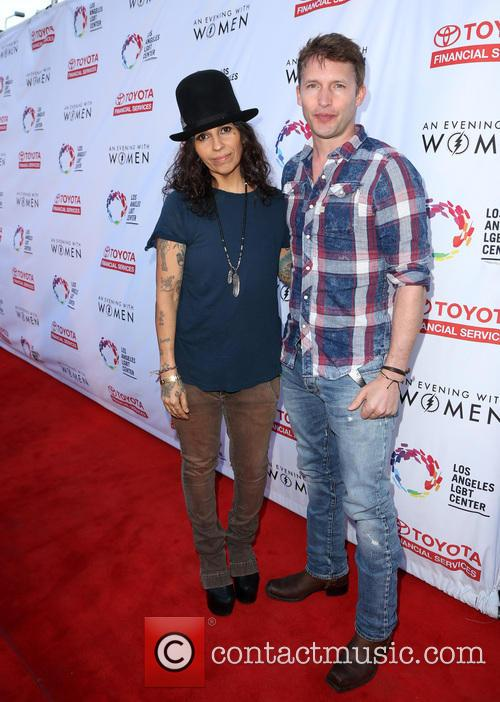 Linda Perry and James Blunt 10