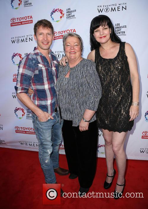 James Blunt, Pauley Perrette and Lorri L. Jean 10