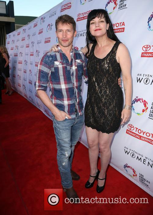 James Blunt and Pauley Perrette 11