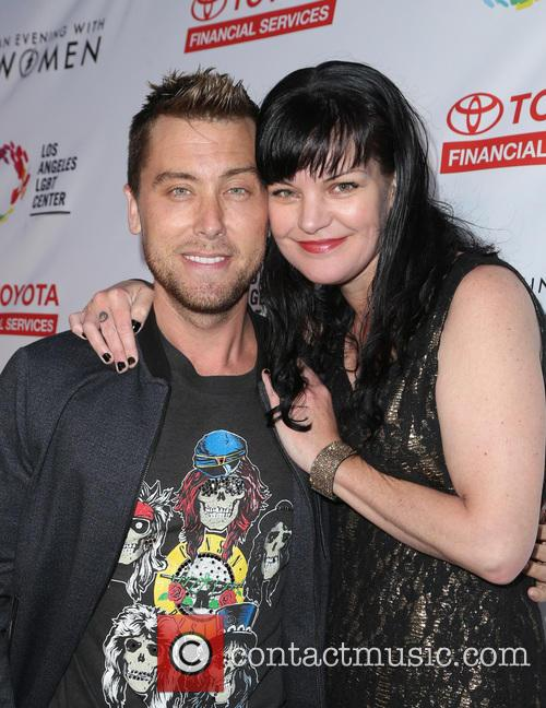 Lance Bass and Pauley Perrette 4