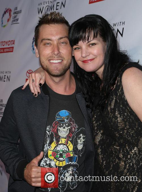Lance Bass and Pauley Perrette 8